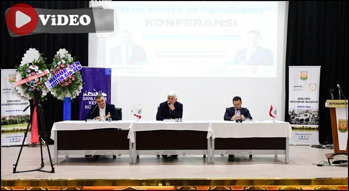 Yerel Medya ve Dijitalleşme Konferansı Urfa'da İlgi Gördü
