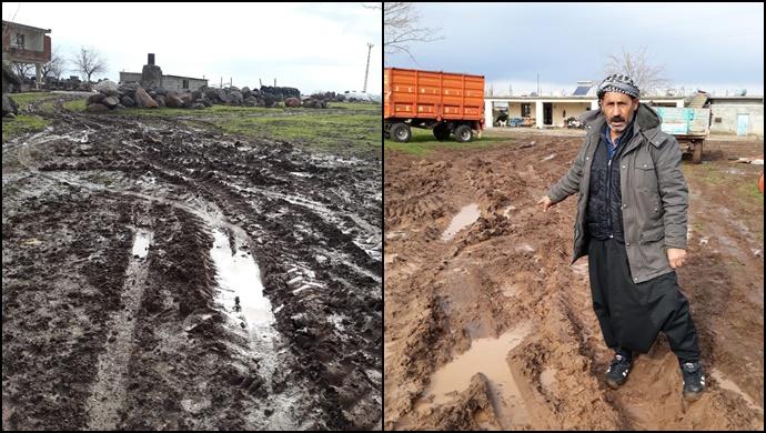 Yoğunca Mahalle sakinleri çamurlu yollarının yapılmasını istiyor