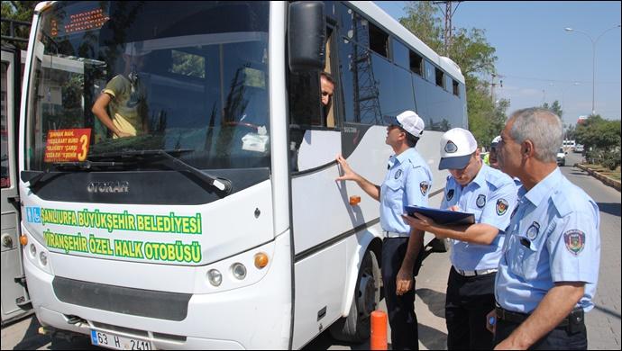 Zabıta Şehir İçi Otobüsleri Denetledi