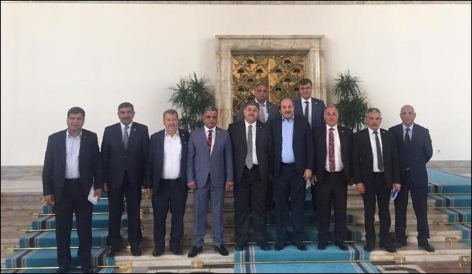 Ziraat Odası Başkanları TBMM'ye çıkarma yaptı