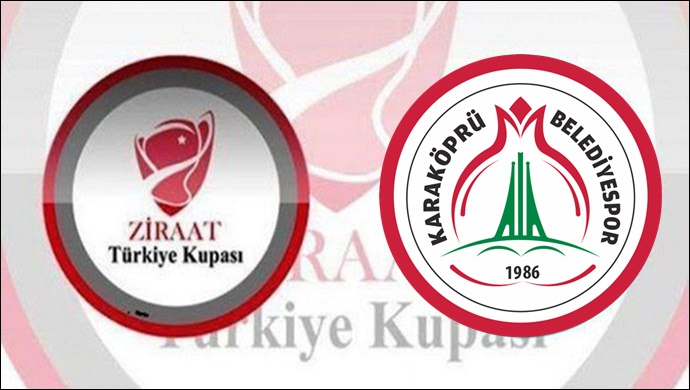 Ziraat Türkiye Kupası kuraları çekildi :Karaköprü Belediyespor'un Rakibi Belli Oldu