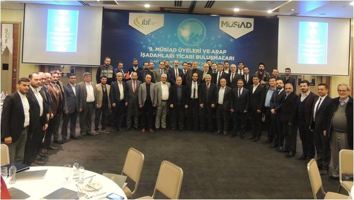 Türk-Arap İş Adamları Urfa'da Buluştu