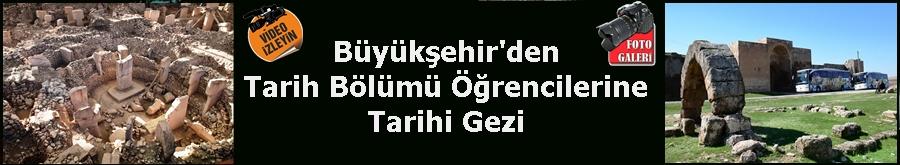 Büyükşehir'den Tarih Bölümü Öğrencilerine Tarihi Gezi
